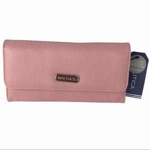 New Nautica Pink blush Wallet
